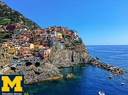 Picture of coast in Italy