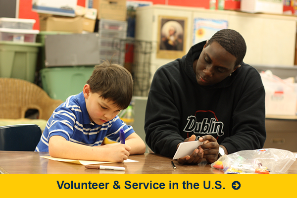 Volunteer and Service in the U.S.