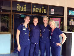 Nurses in Thailand